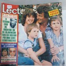 Coleccionismo de Revistas y Periódicos: 15998 - REVISTA - LECTURAS - Nº 1214 - AÑO 1975 - EN PORTADA RAMIRO OLIVEROS - INCLUYE POSTER. Lote 160943274