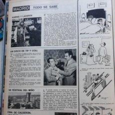 Coleccionismo de Revistas y Periódicos: FINA CALDERON DULCINEA DE LA MANCHA TIP Y COLL KARINA VALERIO LAZAROV. Lote 161027986