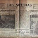 Coleccionismo de Revistas y Periódicos: BARCELONA GUERRA CIVIL DIARIO LAS NOTICIAS 11 - IX - 1936. Lote 161085374
