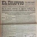 Coleccionismo de Revistas y Periódicos: BARCELONA GUERRA CIVIL DIARIO REPUBLICANO DEMOCRATICO FEDERAL 31 - XII - 1937. Lote 161086150