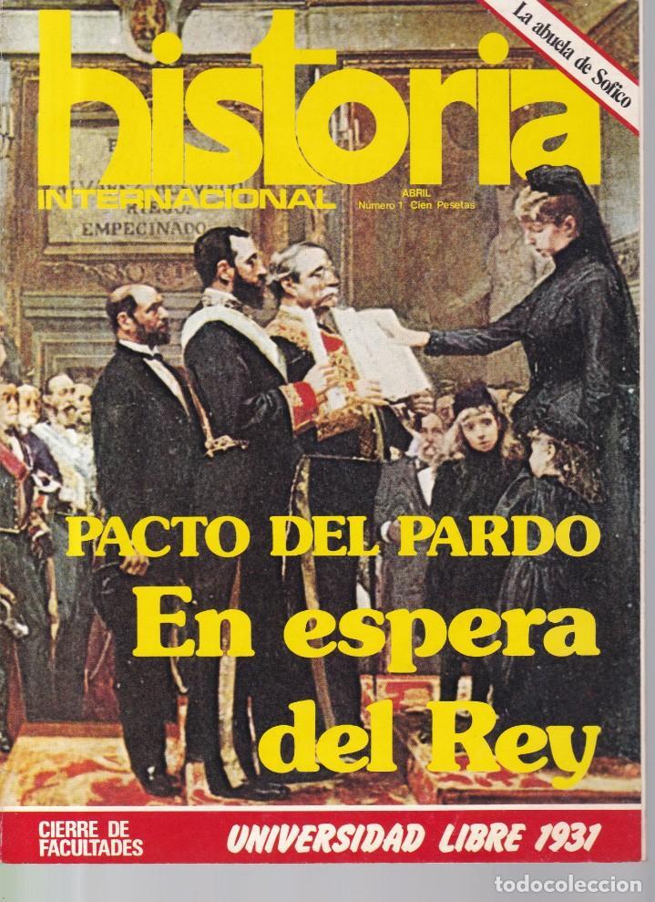 HISTORIA INTERNACIONAL - Nº 1 / ABRIL 1975 (Coleccionismo - Revistas y Periódicos Modernos (a partir de 1.940) - Otros)