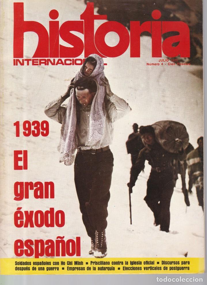 HISTORIA INTERNACIONAL - Nº 4 / JULIO 1975 (Coleccionismo - Revistas y Periódicos Modernos (a partir de 1.940) - Otros)