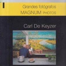 Coleccionismo de Revistas y Periódicos: MAGNUM PHOTOS - CARL DE KEYZER - GRANDES FOTOGRAFOS / SALVAT 2011. Lote 161123334