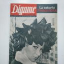 Coleccionismo de Revistas y Periódicos: REVISTA DIGAME - AÑO XXIV Nº 1211, 19 MARZO DE 1963. LA SEÑORITA PRIMAVERA. CAR135. Lote 161140302