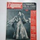 Coleccionismo de Revistas y Periódicos: REVISTA DIGAME - AÑO XXVI Nº 1314, 9 MARZO DE 1965. LA POSADA DEL PEINE MADRID. CAR135. Lote 161140402