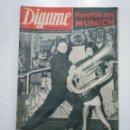Coleccionismo de Revistas y Periódicos: REVISTA DIGAME - AÑO XXIV Nº 1205, 5 FEBRERO DE 1963. FIESTAS EN MUNICH. CAR135. Lote 161140982