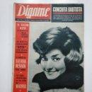 Coleccionismo de Revistas y Periódicos: REVISTA DIGAME - AÑO XXVI Nº 1315, 16 MARZO DE 1965. CONCHITA BAUTISTA. CAR135. Lote 161141226