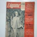 Coleccionismo de Revistas y Periódicos: REVISTA DIGAME - AÑO XXV Nº 1290, 22 SEPTIEMBRE 1964. EUGENIA ZUOFFOLI. MISTER VOLVERE. CAR135. Lote 161147018