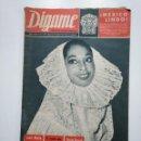 Coleccionismo de Revistas y Periódicos: REVISTA DIGAME - AÑO XXV Nº 1289, 15 SEPTIEMBRE 1964. DULCE MARIA DE LOS BOSQUES. MEXICO. CAR135. Lote 161147242