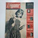 Coleccionismo de Revistas y Periódicos: REVISTA DIGAME - AÑO XXVI Nº 1317, 30 MARZO DE 1965. FRAY JOSE MOJICA EN MADRID. CAR135. Lote 161147422