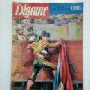 Coleccionismo de Revistas y Periódicos: REVISTA DIGAME NUMERO EXTRAORDINARIO DE TOROS. 7 DE MARZO 1963 ROTATIVO GRAFICO SEMANAL. CAR135. Lote 161147698
