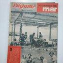 Coleccionismo de Revistas y Periódicos: REVISTA DIGAME - AÑO XXII Nº 1175, 10 JULIO 1962. LA LLAMADA DEL MAR. CAR135. Lote 161149118