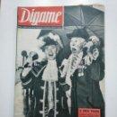 Coleccionismo de Revistas y Periódicos: REVISTA DIGAME - AÑO XXIV Nº 1234, 27 AGOSTO 1963. XVI ANIVERSARIO MUERTE DE MANOLETE. CAR135. Lote 161151434