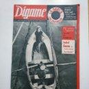 Coleccionismo de Revistas y Periódicos: REVISTA DIGAME - AÑO XXIV Nº 1245, 12 NOVIEMBRE 1963. ISABEL GARCES. 75 AÑOS BORDANDO TRAJES. CAR135. Lote 161155542