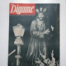 Coleccionismo de Revistas y Periódicos: REVISTA DIGAME - AÑO XXIV Nº 1214, 9 DE ABRIL 1963. SEMANA SANTA. PROCESION SILENCIO MADRID. CAR135. Lote 161155854