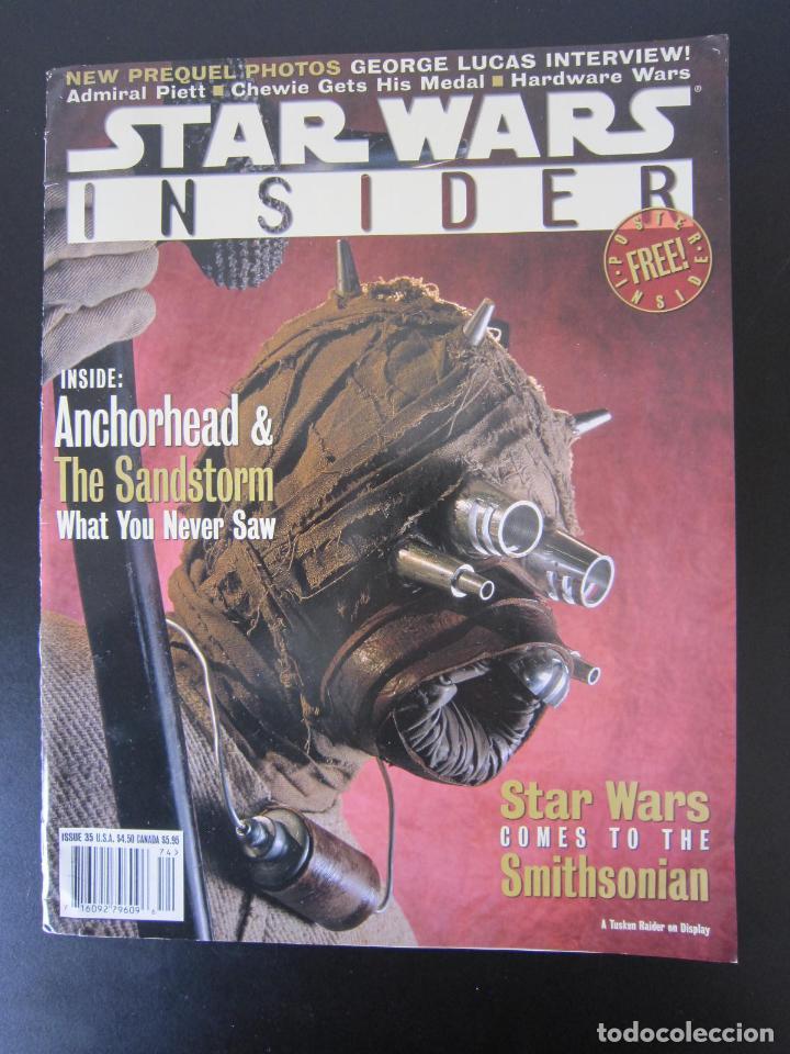 REVISTA STAR WARS INSIDER Nº 35 - 1997 - IMPORTACIÓN U.S.A. (Coleccionismo - Revistas y Periódicos Modernos (a partir de 1.940) - Otros)