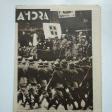 Coleccionismo de Revistas y Periódicos: DIARIO AHORA Nº 1093. 19 DE JUNIO DE 1934. CONFERENCIA HITLER MUSSOLINI EN VENECIA. CAR135. Lote 161199074