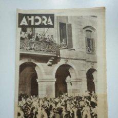 Coleccionismo de Revistas y Periódicos: DIARIO AHORA Nº 1089. 14 DE JUNIO DE 1934. MANIFESTACION ANTE EL PARLAMENTO CATALAN. CAR135. Lote 161200158