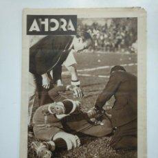 Coleccionismo de Revistas y Periódicos: DIARIO AHORA Nº 1057. 8 DE MAYO DE 1934. EL MADRID FUTBOL CLUB CAMPEON DE ESPAÑA. CAR135. Lote 161226026