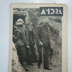 Coleccionismo de Revistas y Periódicos: DIARIO AHORA Nº 1055. 5 MAYO DE 1934. EJERCICIOS MILITARES BATALLON ZAPADORES ALCALA ZAMORA. CAR135. Lote 161237038