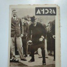 Coleccionismo de Revistas y Periódicos: DIARIO AHORA Nº 1053. 3 MAYO DE 1934. EL OBISPO DE LONDRES CULTIVA UN DEPORTE POPULAR CAR135. Lote 161237314