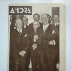 Coleccionismo de Revistas y Periódicos: DIARIO AHORA Nº 1051. 30 ABRIL DE 1934. EL SEÑOR SAMPER HA LOGRADO FORMAR MINISTERIO. CAR135. Lote 161237486