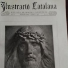 Coleccionismo de Revistas y Periódicos: ILUSTRACIO CATALANA Nº254 1908 EXCAVACIONS ARQUEOLOGICAS MORVEDRE SAGUNTO. Lote 161251618