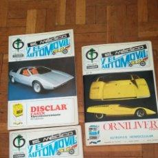 Coleccionismo de Revistas y Periódicos: 3 ANTIGUAS REVISTAS, EL MÉDICO Y EL AUTOMÓVIL. Lote 161252228
