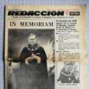 Coleccionismo de Revistas y Periódicos: EDICIONES UNIVERSIDAD DE NAVARRA. REDACCIÓN EXTRA. NOVIEMBRE 1976. Lote 161257654