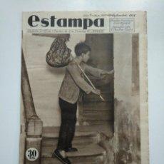 Coleccionismo de Revistas y Periódicos - ESTAMPA. REVISTA GRAFICA. Nº 351. 29 SEPTIEMBRE DE 1934. AÑO 7. MENORES ESCAPAN DE CASA. CAR135 - 161261774