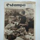 Coleccionismo de Revistas y Periódicos: ESTAMPA. REVISTA GRAFICA. Nº 346. 25 AGOSTO DE 1934. AÑO 7. SOY UN VAGABUNDO. CAR135. Lote 161263338