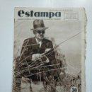 Coleccionismo de Revistas y Periódicos: ESTAMPA. REVISTA GRAFICA. Nº 342. 28 JULIO DE 1934. AÑO 7. DIEGO HIDALGO MINISTRO DE GUERRA. CAR135. Lote 161264070