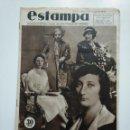 Coleccionismo de Revistas y Periódicos: ESTAMPA. REVISTA GRAFICA. Nº 341. 21 JULIO DE 1934. AÑO 7. ONCE PRINCESAS BUSCAN NOVIO. CAR135. Lote 161264198