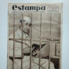 Coleccionismo de Revistas y Periódicos: ESTAMPA. REVISTA GRAFICA. Nº 338. 30 JUNIO DE 1934. AÑO 7. PENAL DE SAN MIGUEL DE LOS REYES. CAR135. Lote 161264586