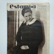 Coleccionismo de Revistas y Periódicos: ESTAMPA. REVISTA GRAFICA. Nº 335. 9 JUNIO DE 1934. AÑO 7. MISS ESPAÑA MARIA EUGENIA ENRIQUEZ. CAR135. Lote 161264970