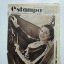 Coleccionismo de Revistas y Periódicos: ESTAMPA. REVISTA GRAFICA. Nº 334. 2 JUNIO DE 1934. AÑO 7. PRIMER DIA DE MISS ESPAÑA. CAR135. Lote 161265066