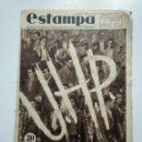 Coleccionismo de Revistas y Periódicos: ESTAMPA. REVISTA GRAFICA. Nº 335. 3 NOVIEMBRE DE 1934. AÑO 7. UHP ESTADO MARXISTA ASTURIAS. CAR135. Lote 161265162