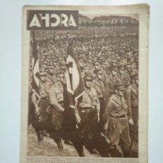 Coleccionismo de Revistas y Periódicos: DIARIO AHORA Nº 830. 11 AGOSTO 1933. LOS NAZIS AMOS DE LA NUEVA ALEMANIA. ADOLF HITLER. CAR135 . Lote 161265626
