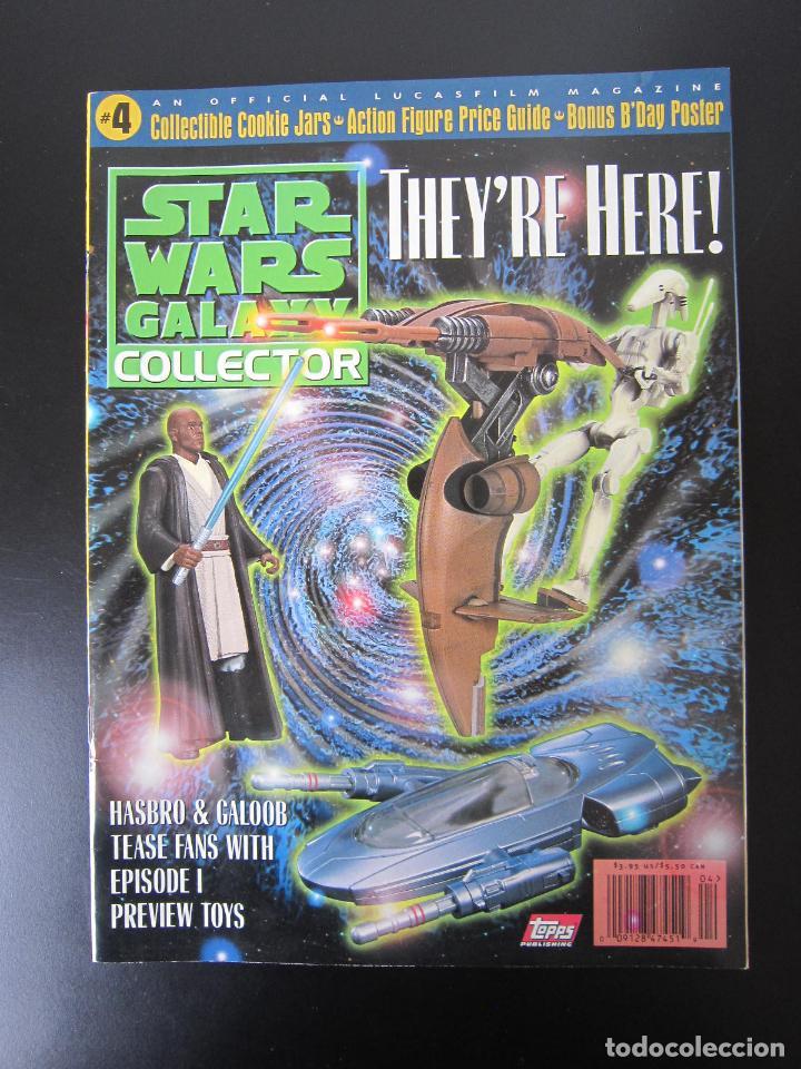 REVISTA - STAR WARS GALAXY COLLECTOR Nº 4 - 1998 - IMPORTACIÓN U.S.A. (Coleccionismo - Revistas y Periódicos Modernos (a partir de 1.940) - Otros)