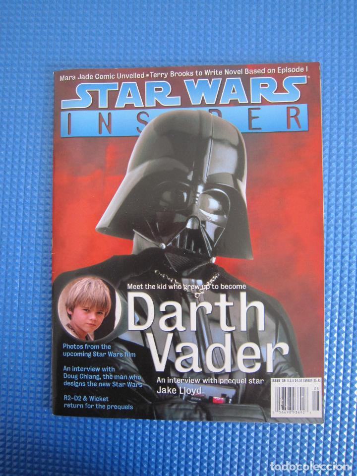 REVISTA - STAR WARS INSIDER Nº 39 - 1998 - IMPORTACIÓN U.S.A. (Coleccionismo - Revistas y Periódicos Modernos (a partir de 1.940) - Otros)