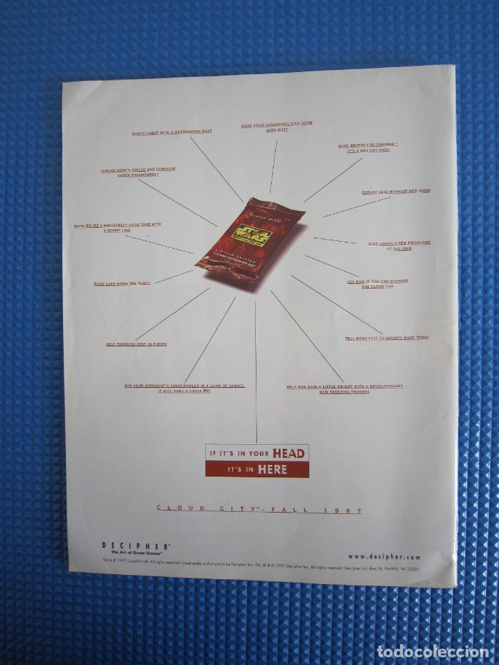 Coleccionismo de Revistas y Periódicos: REVISTA - STAR WARS INSIDER Nº 36 - 1997 - IMPORTACIÓN U.S.A. - Foto 3 - 161406462