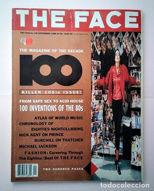 THE FACE MAGAZINE NO. 100 SEPTEMBER 1988 – KILLER 100TH ISSUE · NEVILLE BRODY · NICK LOGAN (Coleccionismo - Revistas y Periódicos Modernos (a partir de 1.940) - Otros)