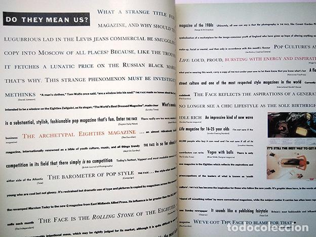 Coleccionismo de Revistas y Periódicos: The Face Magazine No. 100 September 1988 – Killer 100th Issue · Neville Brody · Nick Logan - Foto 5 - 161410682