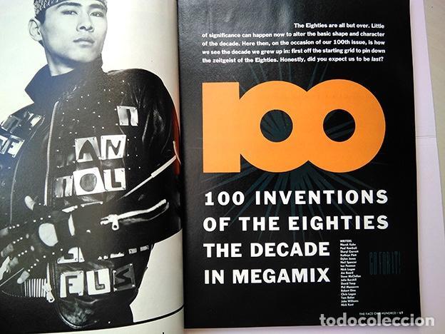 Coleccionismo de Revistas y Periódicos: The Face Magazine No. 100 September 1988 – Killer 100th Issue · Neville Brody · Nick Logan - Foto 9 - 161410682