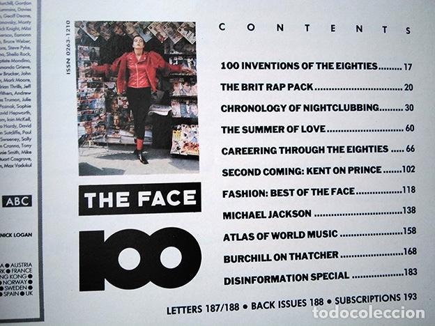 Coleccionismo de Revistas y Periódicos: The Face Magazine No. 100 September 1988 – Killer 100th Issue · Neville Brody · Nick Logan - Foto 11 - 161410682