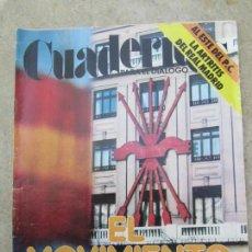 Coleccionismo de Revistas y Periódicos: CUADERNOS PARA EL DIALOGO , N,198 , FEBRERO 1977 , EL MOVIMIENTO SIGUE. Lote 161469566