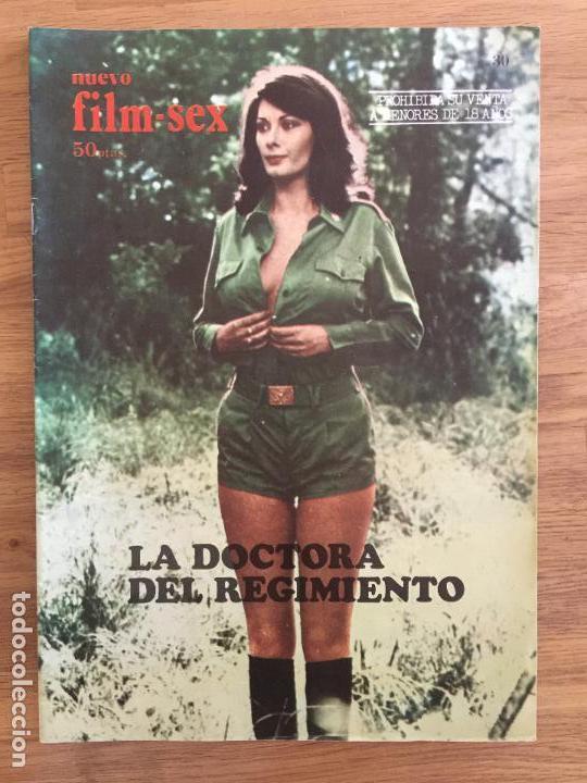 REVISTA FILM SEX Nº 30 - LA DOCTORA DEL REGIMIENTO. EDWIGE FENECH - CON POSTER CENTRAL - BUEN ESTADO (Coleccionismo - Revistas y Periódicos Modernos (a partir de 1.940) - Otros)