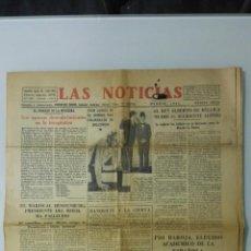 Coleccionismo de Revistas y Periódicos: ANTIGUO PERIODICO, LAS NOTICIAS, AÑO 1934, 8 PAGINAS,. Lote 161637894