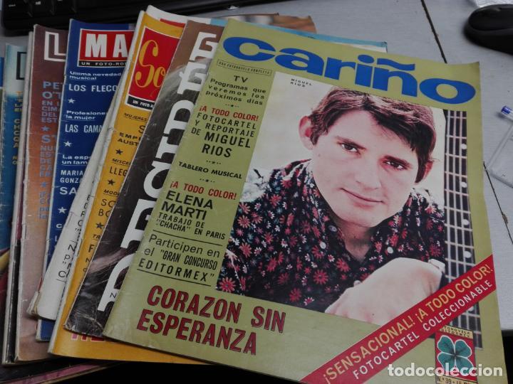 FOTONOVELAS: LOTE CON 10 REVISTAS: CARIÑO, SONIA, DESIREE, MABEL, LOLITA, FASCINACIÓN... (Coleccionismo - Revistas y Periódicos Modernos (a partir de 1.940) - Otros)