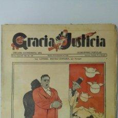 Coleccionismo de Revistas y Periódicos: ANTIGUO PERIODICO, GRACIA Y JUSTICIA, AÑO 1934, Nº 155, 16 PAGINAS, ORGANO EXTREMISTA DEL HUMORISMO . Lote 161662686